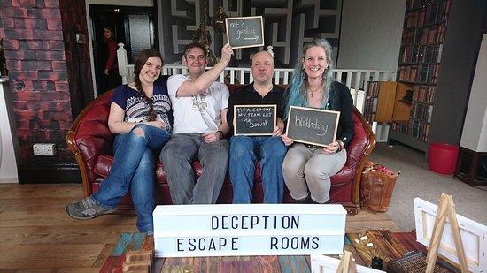 Deception Escape Rooms: Deception Escape Rooms - sadly we failed but had a brilliant time