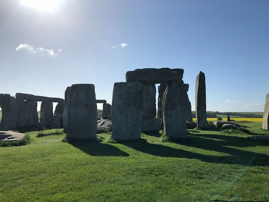 Inner Circle Access of Stonehenge including Bath and Lacock Day Tour from London: Stonehenge, May 10th, 2018.