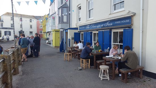 Kingsand, UK: Dining al fresco