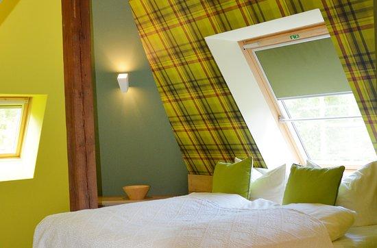"""Furstenberg, เยอรมนี: Schlafzimmer in der Suite """"Highlander"""""""