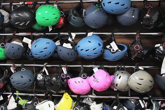 Used and new helmets for purchase or rent  - Picture of Utah
