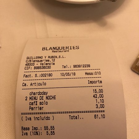 Restaurant Blanqueries Photo