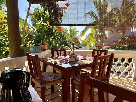 Casa Costa Azul Boutique Hotel: Breakfast with a View!