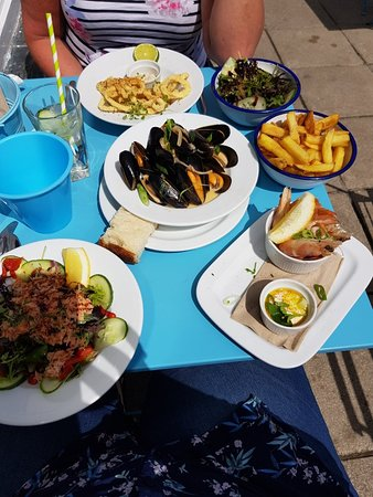 Newlyn, UK: Mackerel Sky Seafood Bar