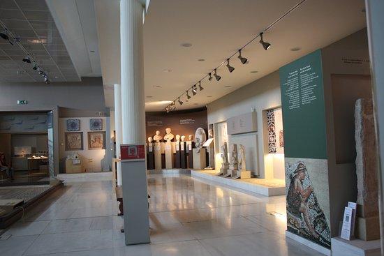 Αρχαιολογικό Μουσείο Θεσσαλονίκης: Общий план.