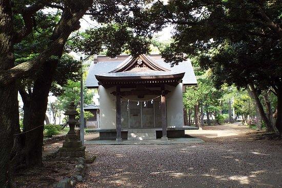 Hiratsuka, Japan: 割と質素な本宮。