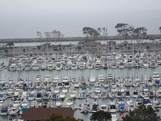 "Dana Point, CA: NIce viewpoint down to the world of the ""haves"""