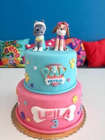 paw patrol birthday cake   Picture of Sweet and Savory Bistro
