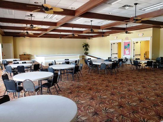 Polk City, FL: Community Room within Registration Complex