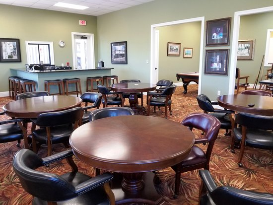 Polk City, FL: Card Room within Registration Complex