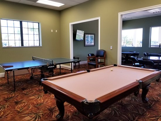 Polk City, FL: Billiard Room within Registration Complex