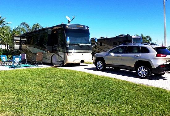 Polk City, FL: RV Site