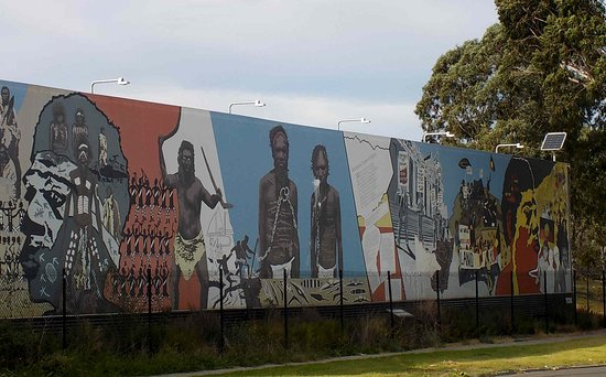 Sir Doug Nicholls Reserve and Aboriginal Mural