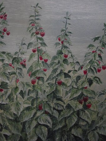 ME - SANFORD - MEL'S RASPBERRY PATCH - THE RASPBERRY PATCH IN THE MURAL