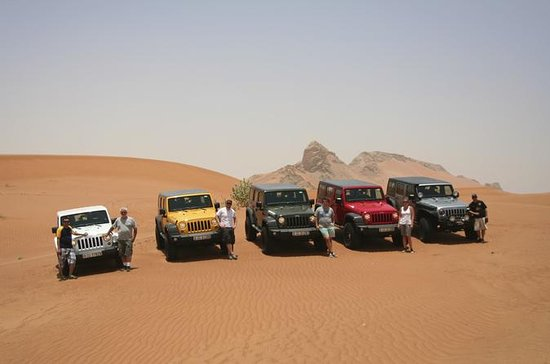 Condução própria em 4x4 no Deserto de...