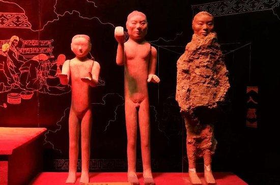 Xi'an Han Jingdi Grabentdeckung...