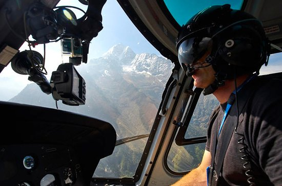 Helicopter Day Tour to Everest Base...