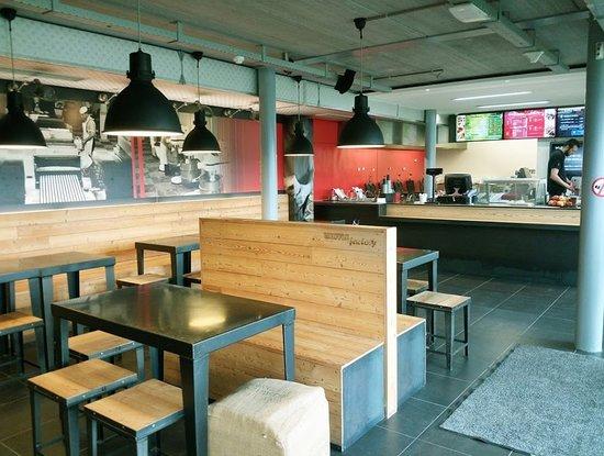 Vallonia, Belgio: Waffle Factory