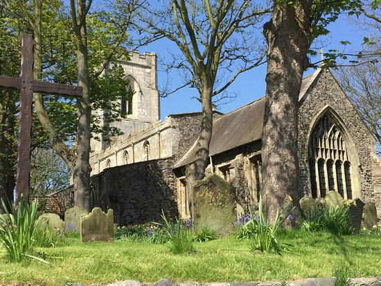 All Saints Church Easington