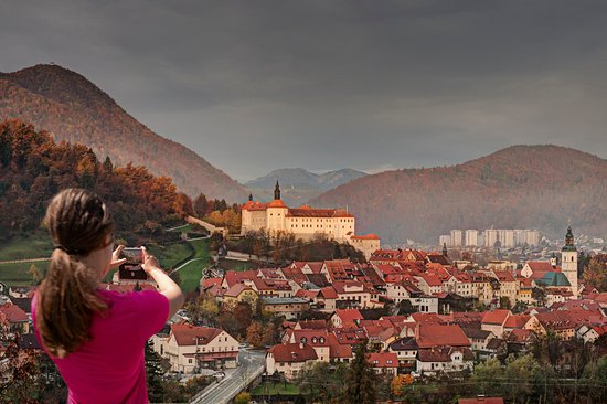 Skofja Loka, Slovenia: Get the best view of the town and learn how to take spectacular photos with your phone.
