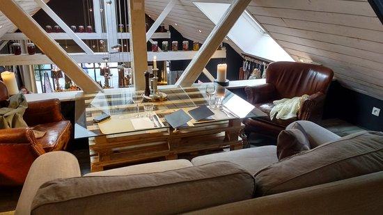L'Endroit: bel endroit cosy en mezzanine