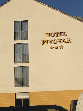 Hotel Pivovar: Hotel from outside