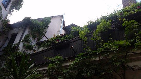 Elsterwerda, Alemania: Blick im Innenhof
