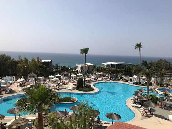 Atlantica Bay Hotel: View from our balcony
