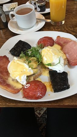 Machynlleth, UK: Award winning Breakfast