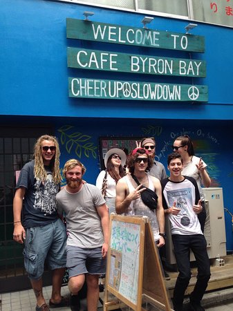 Cafe Byron Bay Asakusa Tokyo : they loved our coffee!