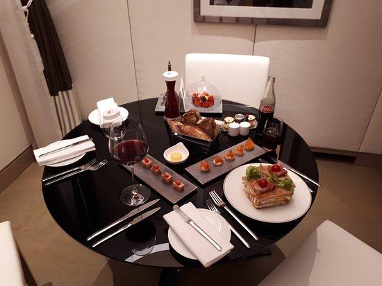 แมนดาริน โอเรียนเต็ล ปารีส: Room-service du soir