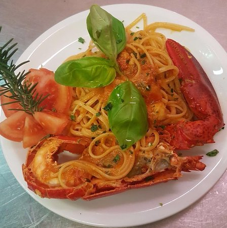 AgriRistoChic Resort Li Espi: linguine all'astice