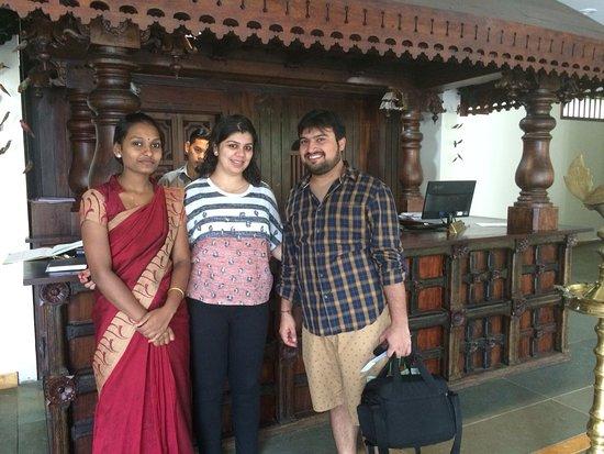 Kunjithanny, الهند: Happy guest Mr Gowrish Poojari.
