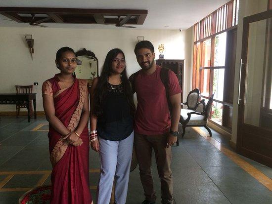 Kunjithanny, الهند: Happy guest Mrs Madavi Nehara.