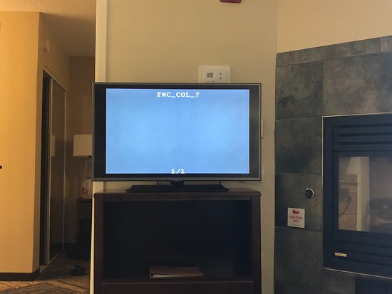 Homewood Suites by Hilton Columbus Airport: TV stopped working