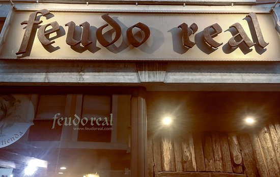 Grado, Spain: Entrada del Feudo Real
