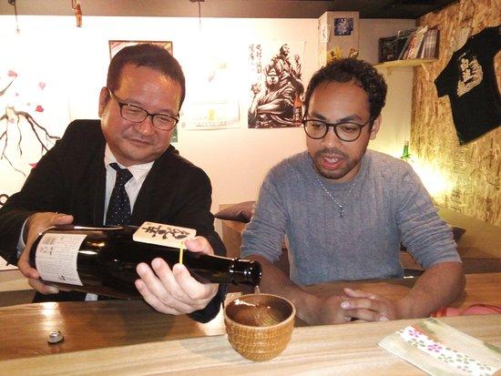 Glocal BAR Vibes: shochu maker pour ur drink (sometimes)