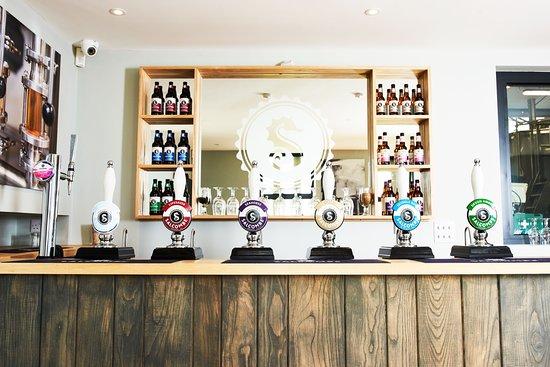 Kingsbridge, UK : Salcombe Brewery Co. Taproom