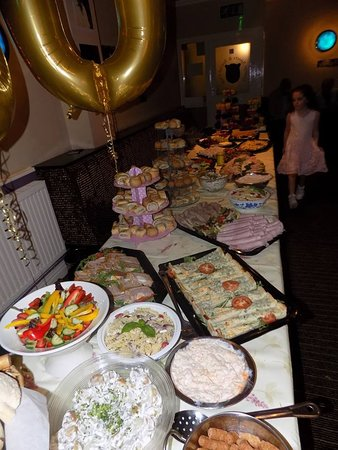 buffet for 80th birthday party picture of the dining room rh tripadvisor com birthday party buffet table setting birthday party buffet restaurant
