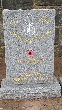 Royal Highland Fusiliers Memorial