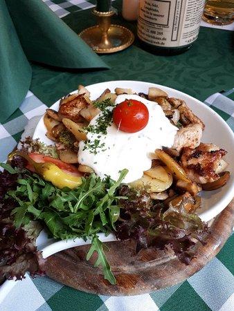 Pranzo tedesco vicino al parco