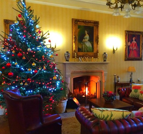 Durn House: Great Hall at Christmas