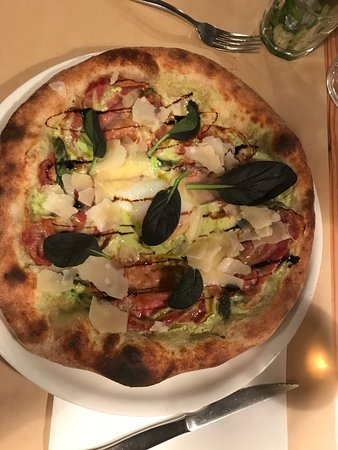 L'atelier Pizza : Pizza Asparagi