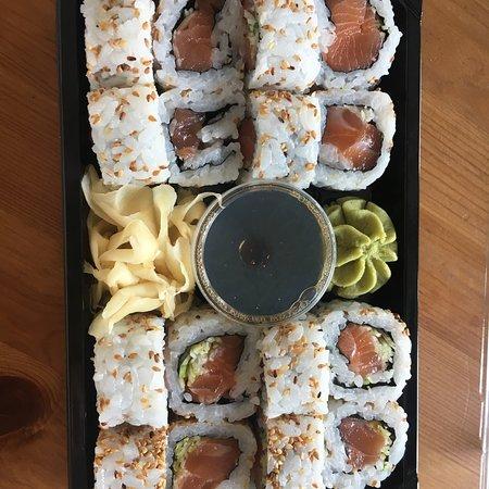 Lorenskog Municipality, Norveç: Kakudai Sushi
