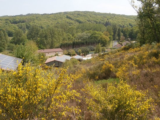 Cazals, France: vue du chalet 28