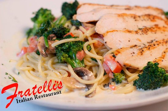Barboursville, Virginia Occidental: Chicken Primavera
