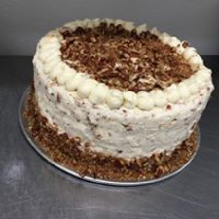 Barboursville, Virginia Occidental: Our famous, moist & delicious carrot cake!