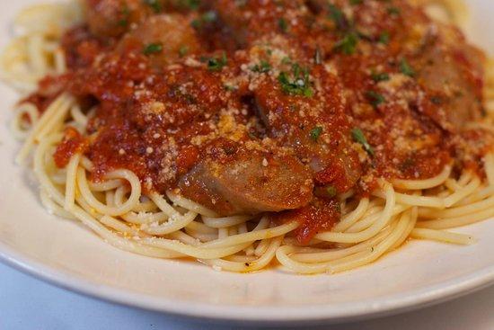 Barboursville, Virginia Occidentale: Pasta with Italian Sausage