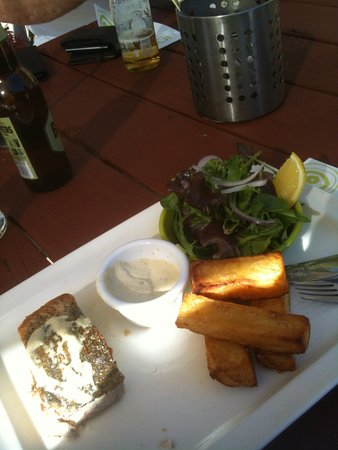 Mahogany Creek, Australia: this is my meal