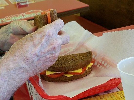 Ruskin, Флорида: Tomato sandwich